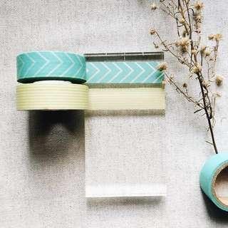 🌸SALE ! Cool Set (Washi Tape Sample - SOLD PER DESIGN)