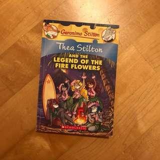 Thea Stilton: Legend of the Fire Flowers