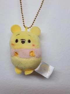 Disney ufufy Winnie the pooh keychain