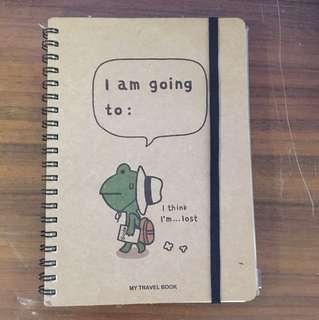 🚚 旅行青蛙 筆記本