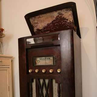 老唱機 功能正常 真空管