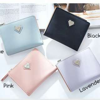 Mini heart shaped wallet