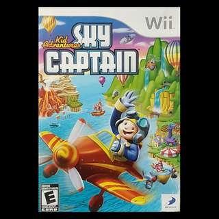 Kid Adventures Sky Captain Nintendo Wii
