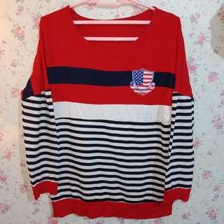 Preloved Stripe Red