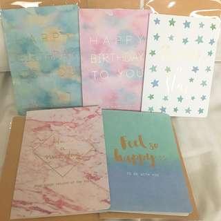 雲石 夢幻 賀卡 生日咭 生日卡 birthday card