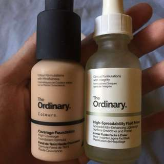 ❤️Bundle: The Ordinary Foundation & High Spreadability Fluid Primer