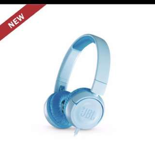 JBL JR300 Headphones Earphones (Blue)