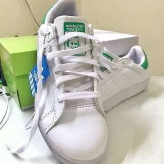 Adidas Stan Smith ( white green )