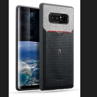 (Ready) Poetic Galaxy Note 8 Credit Card Case - black