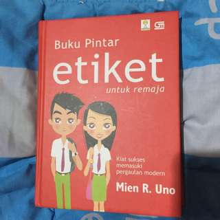 B10 Buku Pintar Etiket untuk Remaja