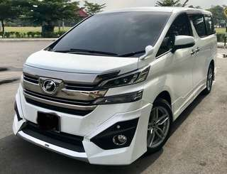 Toyota Vellfire 8seaters