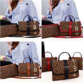 BONIA  Sandona Stripe L Hand Bags 8255