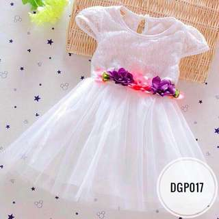 Dress DGP017   White