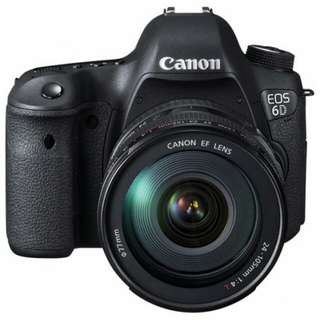 Canon Eos 6D NON WIFI KIT 24-105mm F4 L Kredit tanpa CC