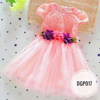 Dress DGP017   Peach