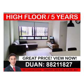 HDB 3-Room @ 180B Boon Lay Drive!
