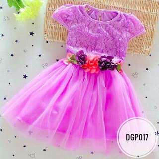Dress DGP017   Purple