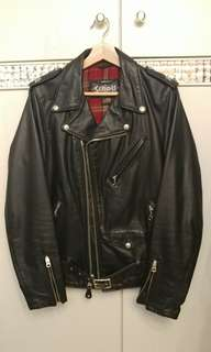 Schott leather biker jacket 皮褸
