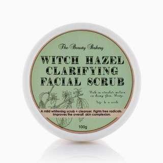 ♥ Witch Hazel Clarifying Facial Scrub