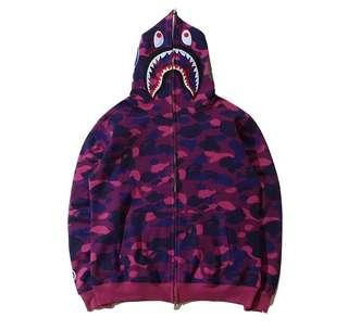 Bape shark jacket
