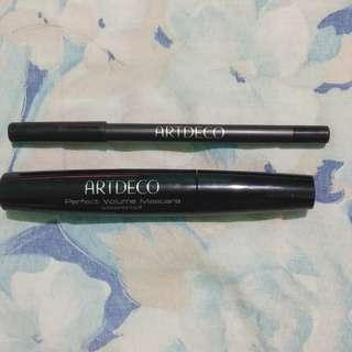 Artdeco mascara and eyeliner