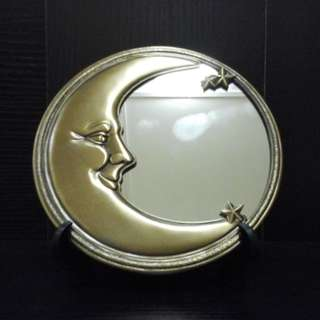 Moon face mirror