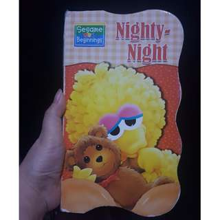 Sesame Street Nighty-Night Board Book