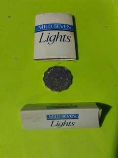 1980-1990早期  MILD SEVEN 火柴兩盒