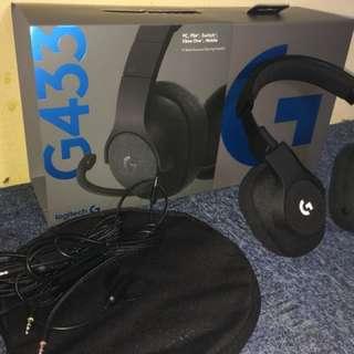 Logitech g433 Wired Headset