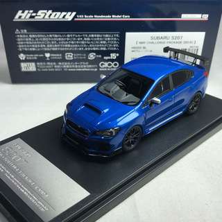 1/43 Hi-story Subaru S207 NBR Challenge