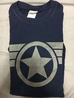 Marvel winter soldier captain america tee