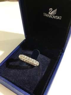 Almost New Swarovski Crystal Ring
