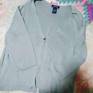 IZOD cardigan (pale blue)