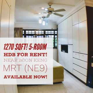 Nicely Renovated HDB 51 (118 sqm) for Rent! Rare!