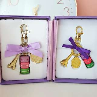 Lauree Inspired Macarons Keychain