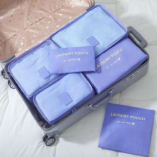 Luagage Travel Organizer (6in1) Violet