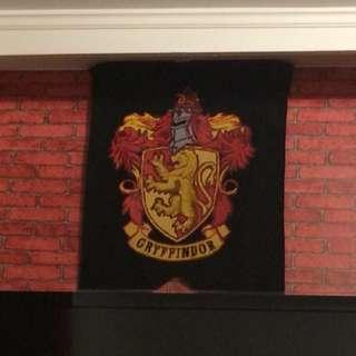 Gryffindor Harry Potter felt banner