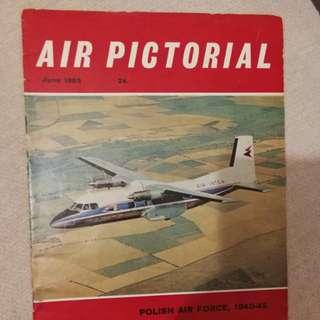 收藏级英文航空雜誌 1965.06