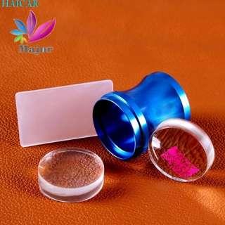 1PC High Quality Mental Transparent Nail Art Stamping Stamper Scraper Image Plate Manicure Print Tool DIY Levert Dropship 3JU28