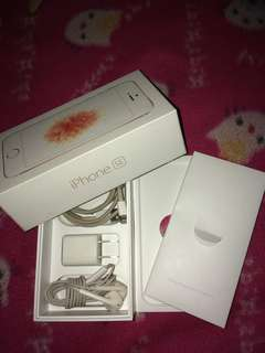 IPHONE SE (ROSE GOLD) 16GB OPENLINE!!!