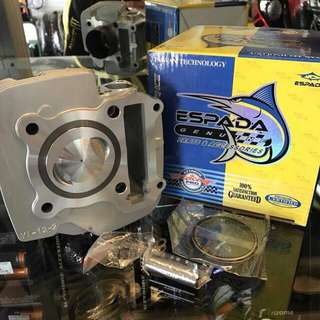 Racing Block Lagenda 110z Srl 110 Espada 55mm Alloy