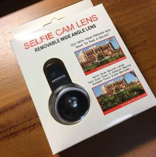 Selfie Cam Lens- removable wide angle lens