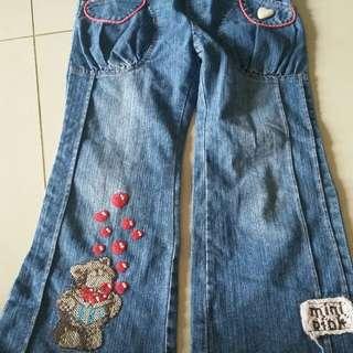 Jeans anak cewe