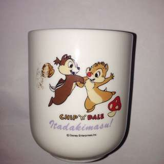 Chip 'N' Dale Chipmunks Tea / Sake Cup
