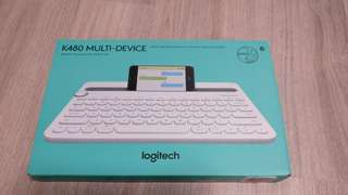 Logitech K480 Multi-Device 藍芽鍵盤 Bluetooth Keyboard