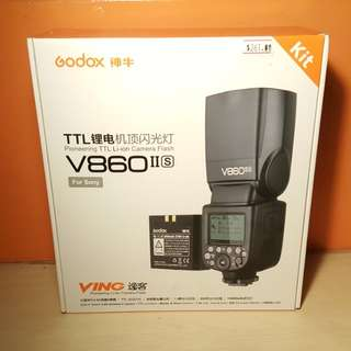 Godox V860II s TTL Flash (Sony)