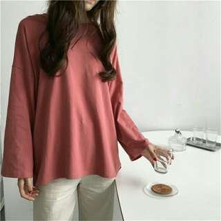 ✨ cute blouse long sleeved korean
