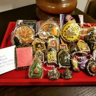 Providing Genuine Thai amulets for lucky fortune, success, protection and wealth. Ready to send out from Bangkok Thailand