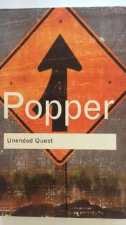 Karl Popper - Unended Quest