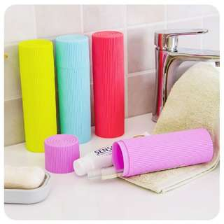 Tabung Sikat Gigi Travel Toothbrush Holder Case